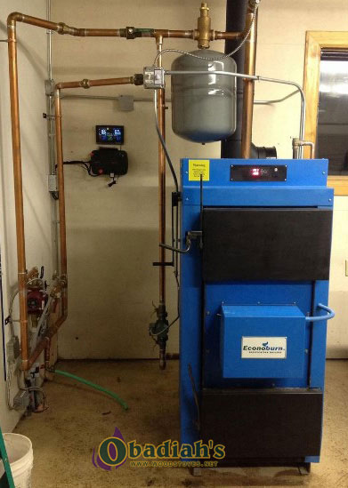 Econoburn Indoor Wood Boiler At Obadiah S Woodstoves