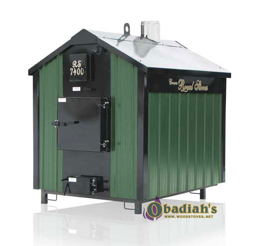 Crown Royal Rs7200 Outdoor Biomass Boiler At Obadiah S