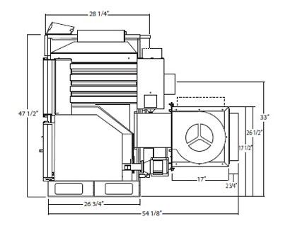 napoleon ncpf 110 air multi fuel furnace