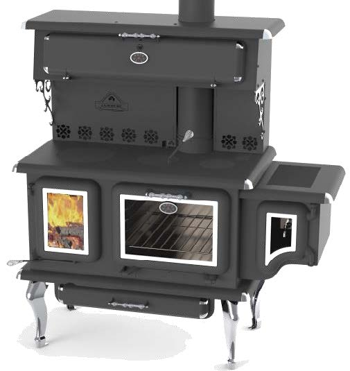 J A Roby Cicero Epa Wood Burning Cookstove At Obadiah S