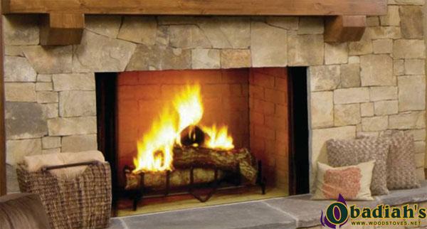 Majestic Biltmore Wood Fireplace
