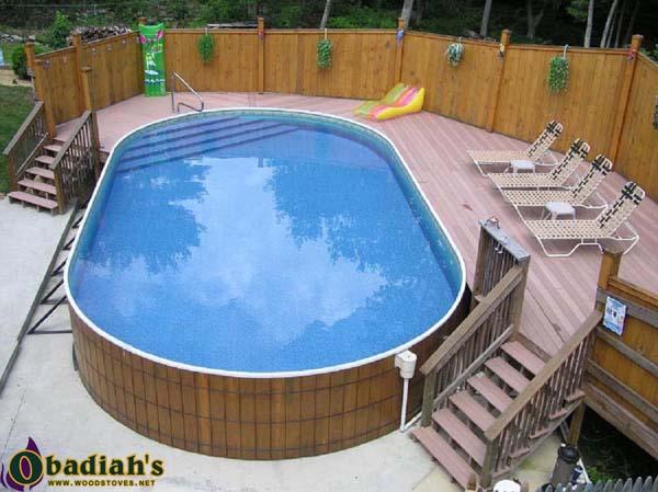 Crestwood Ultimate Above Ground Pool At Obadiah S Woodstoves