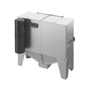 Storage tank w/ pneumatic self-feeding pellet system