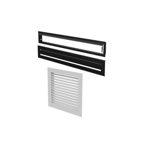 Warm Air Circulation Grille - Modern Style