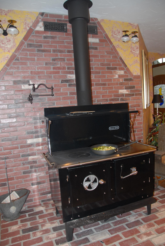 Kitchen Queen 480 Wood Cookstove