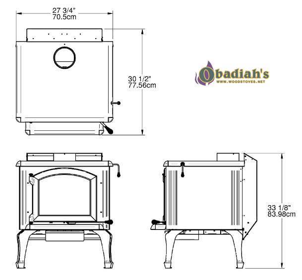 J.A. Roby 2500 Cuisiniere Cookstove at Obadiah\'s Woodstoves.