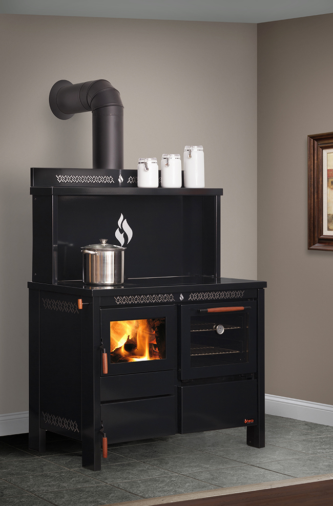 520 Heco Wood Amp Coal Cook Stove At Obadiah S Woodstoves